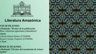 CASLIT presenta Ciclo de conferencias sobre Literatura Amazónica