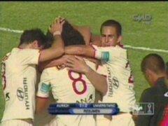 Universitario de Deportes venció 2-1 a Juan Aurich en Olmos