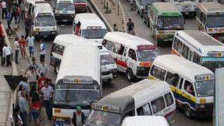 Pese a normas de control caos y desorden invaden vías de Lima Norte