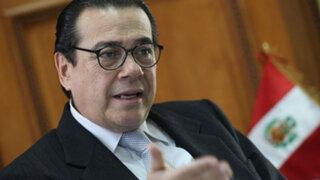 Presidente del Poder Judicial respalda sorteo para realizar servicio militar