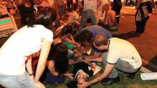 Brasil: Al menos un muerto y más de 100 heridos tras violentas manifestaciones