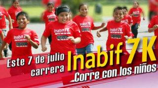 """Inabif organiza tradicional maratón """"7K"""" para ayudar a niños con discapacidad"""