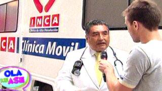 """Clínica móvil """"INCA"""" recorrerá distritos para ayudar a los más pobres"""