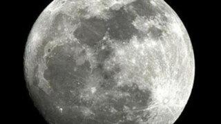 Una 'superluna' iluminará esta noche el cielo de Lima