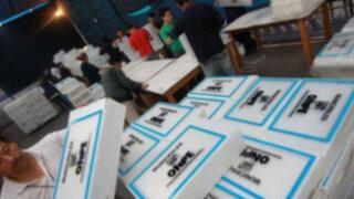 ONPE inicia impresión de más de 6 millones de cédulas de sufragio