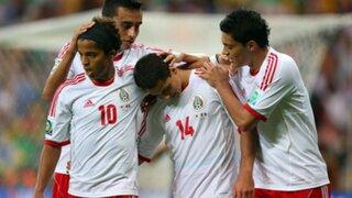 México derrotó 2-1 a Japón por la Copa Confederaciones