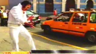 Ellos son: Elvis, Gandhi y Chaplin trabajan arduamente en las calles de Lima