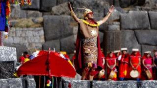 Gran cantidad de turistas y cusqueños viven fiestas del Inti Raymi