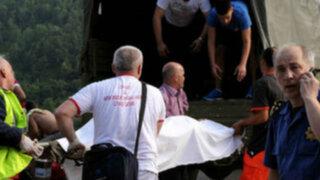 Montenegro: mueren 20 turistas rumanos tras caída de bus en carretera