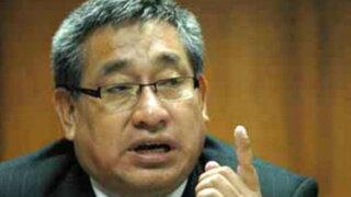 Caso Narcoindultos: Facundo Chinguel rechaza acogerse a conclusión anticipada