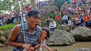 Turistas nacionales y extranjeros llegaron a la selva para celebrar fiesta de San Juan
