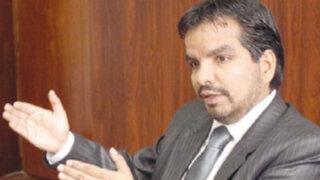 """Julio Arbizu: Exministro Pastor sería el próximo investigado por """"narcoindultos"""""""