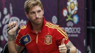 Sergio Ramos se mostró muy contento con la llegada de Ancelotti al Madrid