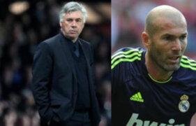 Real Madrid presenta a Ancelotti nuevo DT y Zidane como segundo entrenador
