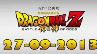 """'Dragon Ball Z: Batalla de dioses"""" ya tiene fecha de estreno"""