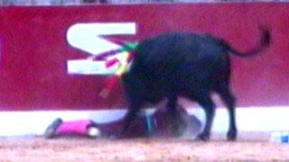 Cusco: torero queda grave tras ser corneado durante corrida