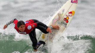Sofía Mulanovich denunció corrupción en el mundial de surf