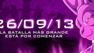 Confirmado: Dragon Ball Z Battle of Gods se estrena en Perú el 26 de setiembre