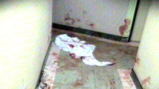 Encuentro íntimo en hostal de San Martín de Porres terminó en baño de sangre