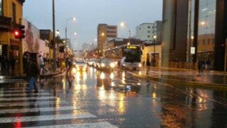 Lima y el Callao alcanzaron el 96% de humedad por lloviznas