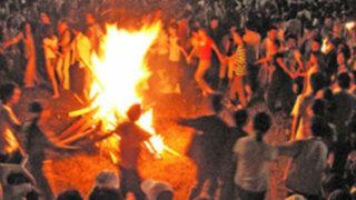 En Ruta: alegría y baile en la tradicional 'Fiesta de San Juan'