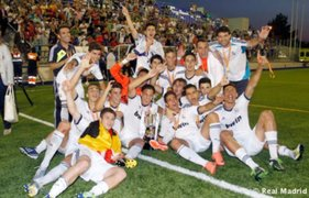 Con goles de Cristian Benavente Real Madrid ganó la Copa del Rey Juvenil