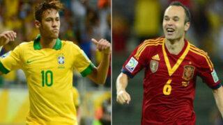 Brasil y España se enfrentan para saber quién es el mejor del mundo