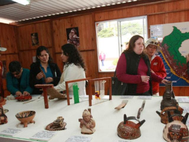 Huaca Pucllana presenta nueva sala para personas con discapacidad visual