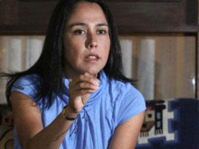 Nadine Heredia afirma que está descartada una candidatura presidencial