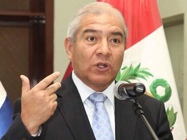 Ministro Pedraza espera que su interpelación sea un debate sin adjetivos