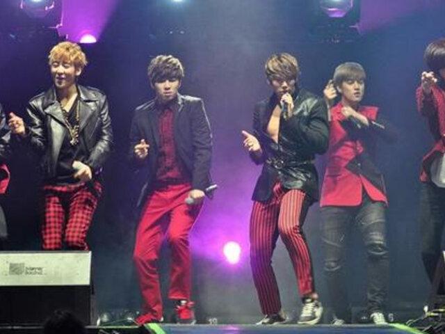 U-KISS encendió la fría noche con su concierto en Lima