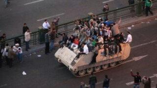Gobierno egipcio cede ante violentas protestas y anuncia reformas
