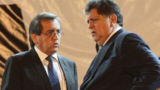 Jorge del Castillo: Existen intereses para inhabilitar a García con miras al 2016