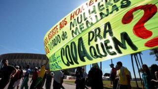 Violentas protestas opacaron triunfo brasileño en la Copa Confederaciones