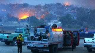 EEUU: voraz incendio forestal mató a 19 bomberos y arrasó con 200 viviendas