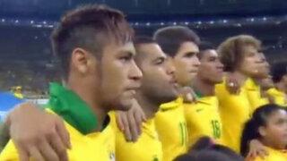 Himno de Brasil habría intimidado a españoles en final de Copa Confederaciones