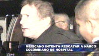 Narcotraficante colombiano fue recapturado tras fuga del Hospital Militar