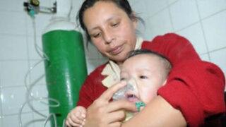 Hospital del Niño inició campaña de vacunación contra la neumonía