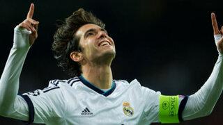 Kaká desea seguir en Real Madrid a pesar de su poca participación en el club