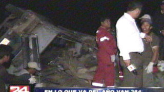 Tragedia en Yauyos: cifra de muertos en accidente aumentó a 22