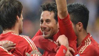 Confirmado: Claudio Pizarro se queda una temporada más en el Bayern Múnich