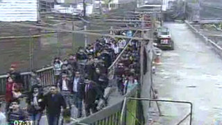 SMP: Vecinos denuncian lentitud en obras del puente de la Av. Universitaria