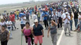 La Oroya: más de 50 cafetaleros detenidos tras bloqueo de Carretera Central