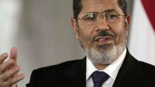 "Mursi afirma que no aceptará renuncia ""humillante"" a presidencia de Egipto"