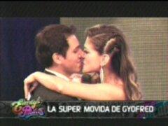 La Súper Movida de Gyofred: beso de reportero cautivó a Vanessa Jerí