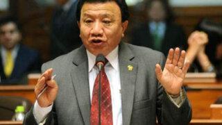 """Congresista Wong: """"Todavía no tenemos las pruebas para citar a Nadine Heredia"""""""