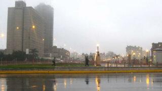 Temperatura en Lima bajó a menos de 14 grados y llegó al 100% de humedad