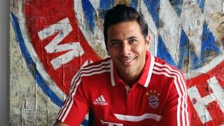 DT del Bayern Munich se rinde ante su nuevo pupilo Claudio Pizarro