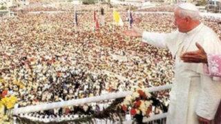 Vaticano reporta 15 milagros realizados por Juan Pablo II en el Perú