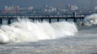 Oleajes anómalos se registrarán este 28 de julio en litoral peruano